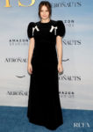 Felicity Jones Wore The Vampire's Wife To 'The Aeronauts' New York Premiere