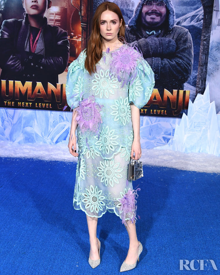 Karen Gillan Wore Prabal Gurung To The 'Jumanji: The Next Level' LA Premiere