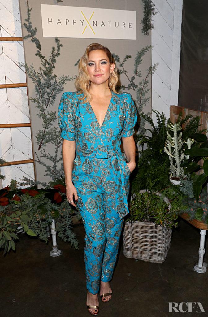 Kate Hudson Celebrates Happy x Nature Eco-Evening Collection