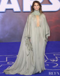 Keri Russell Wore Stéphane Rolland Haute Couture To The 'Star Wars: The Rise of Skywalker' London Premiere