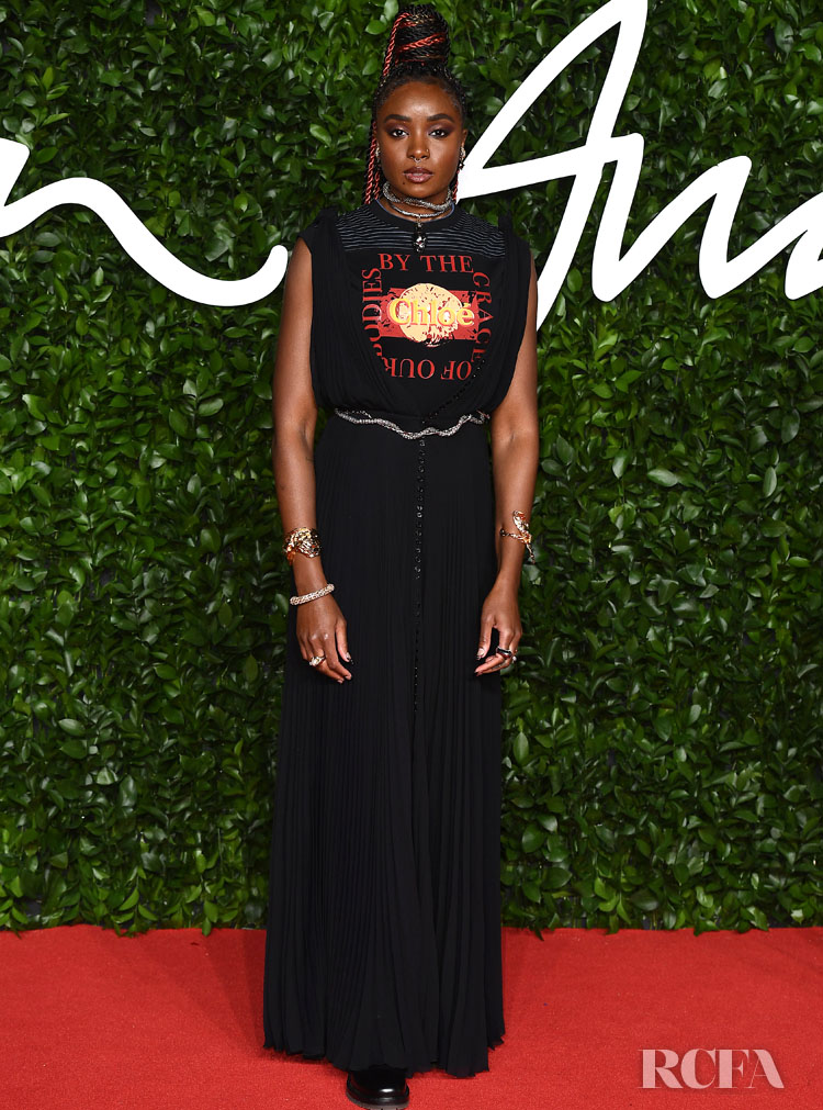 Kiki Layne In Chloe - The Fashion Awards 2019