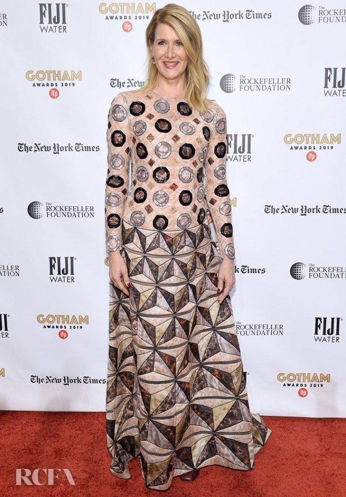 Laura Dern Wore Fendi Couture To The 2019 Gotham Awards