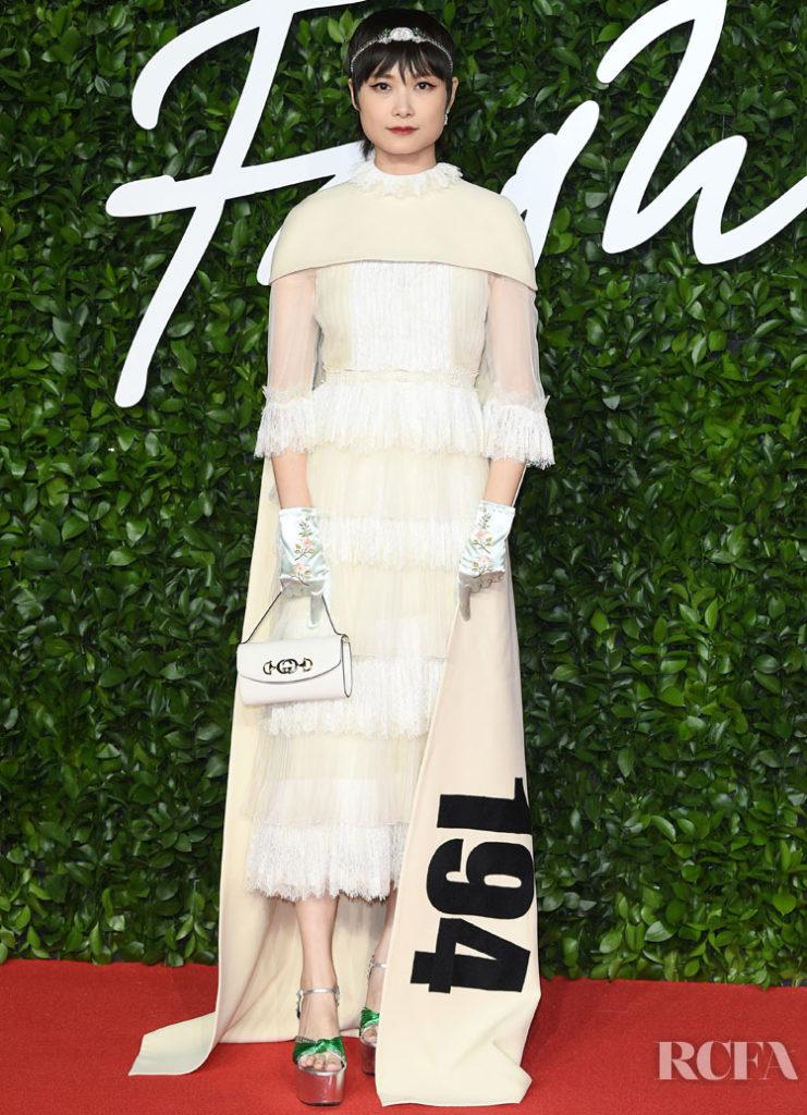 Li Yuchun In Gucci - The Fashion Awards 2019