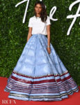 Liya Kebede In Moncler 1 Pierpaolo Piccioli – The Fashion Awards 2019