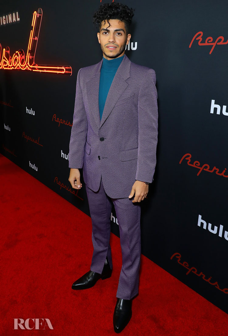 Mena Massoud Wore Givenchy To The 'Reprisal'  Season One LA Premiere
