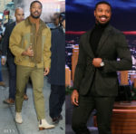 Michael B. Jordan's Day To Night Style Promoting 'Just Mercy' On Good Morning America & Jimmy Fallon