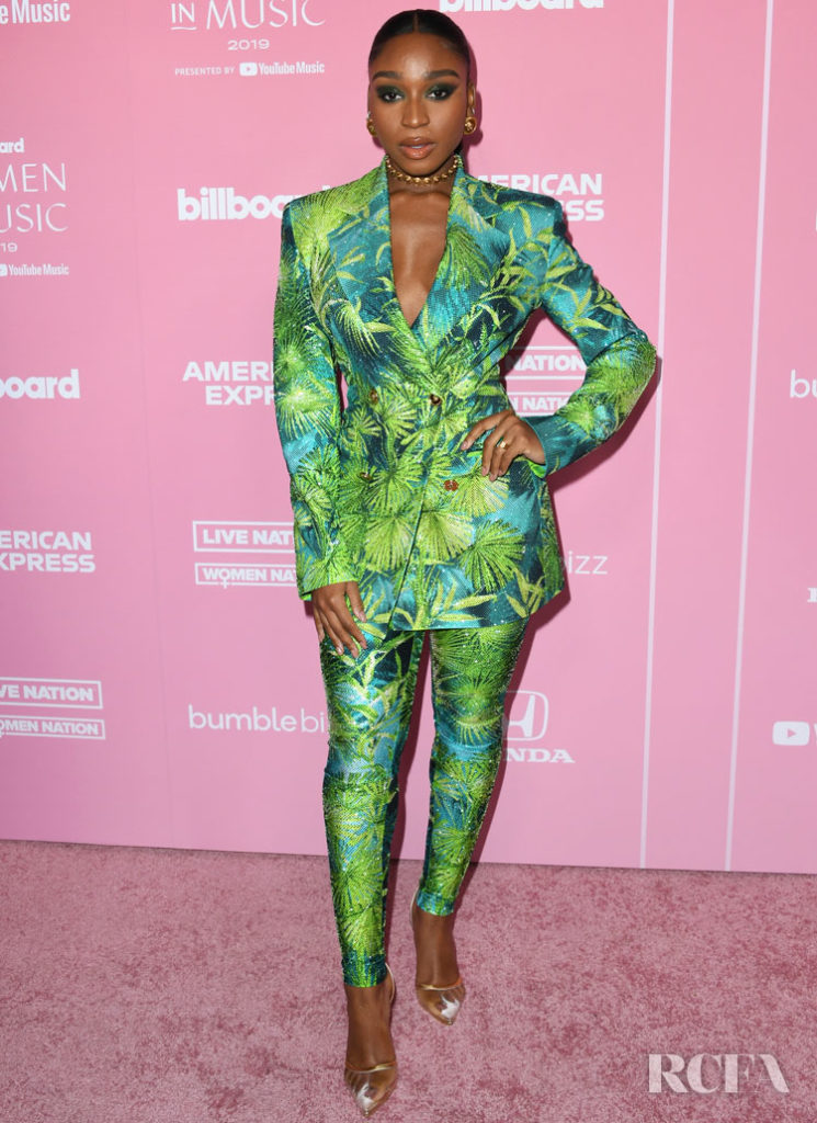 Normani Wore Versace To The 2019 Billboard Women In Music Event