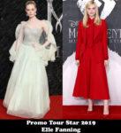 Promo Tour Star 2019 - Elle Fanning