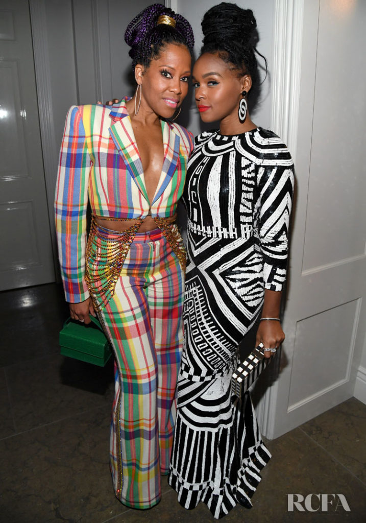 Regina King & Janelle Monáe Attend Sean Combs 50th Birthday Bash