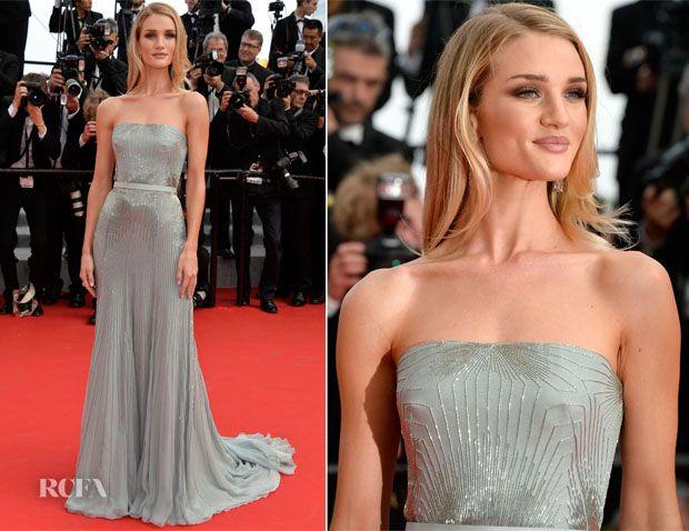 Rosie Huntington-Whiteley In Gucci Première – 'The Search' Cannes Film Festival Premiere