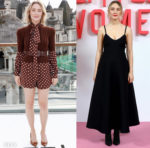 Saoirse Ronan's Two Looks For The 'Little Women' London Photocalls