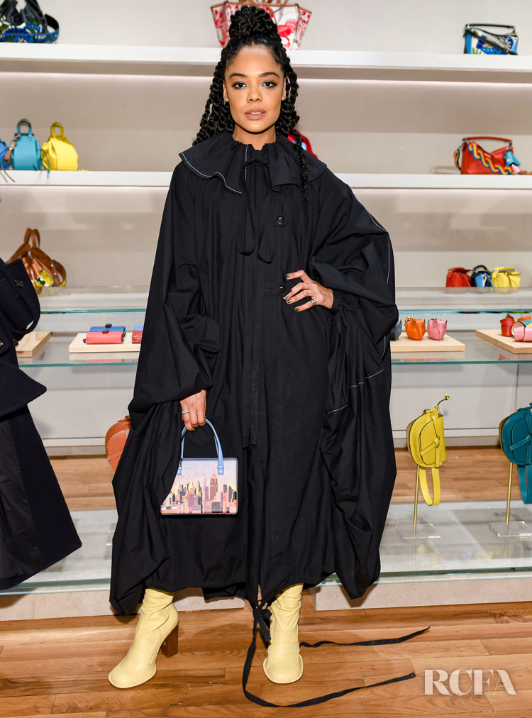 Tessa Thompson in Loewe  Loewe Celebrates The Opening Of Their First New York Store