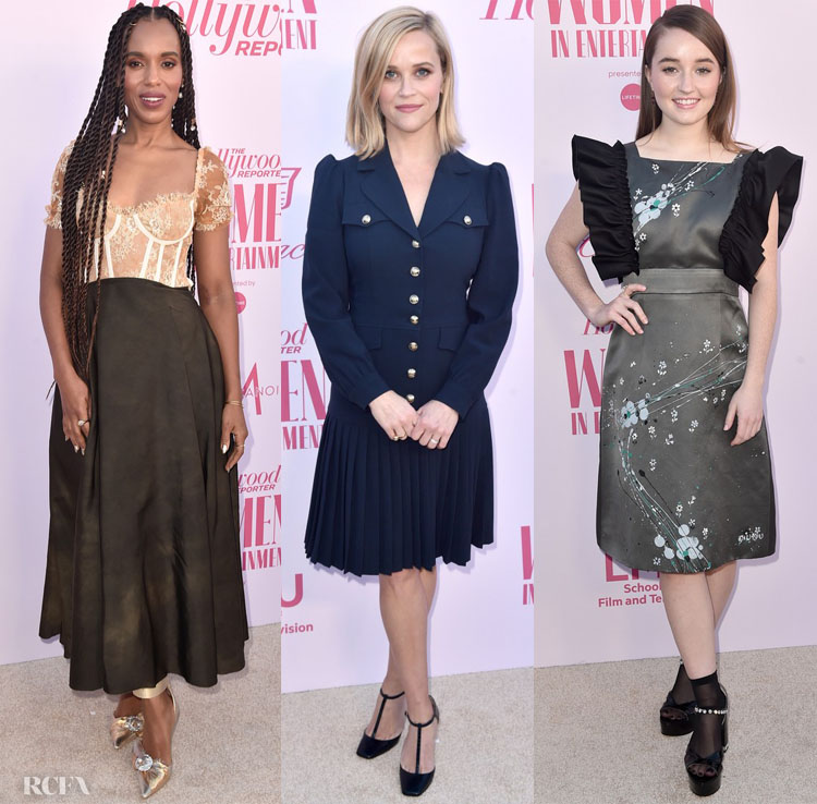 The Hollywood Reporter's Annual Women in Entertainment Breakfast Gala Red Carpet Roundup