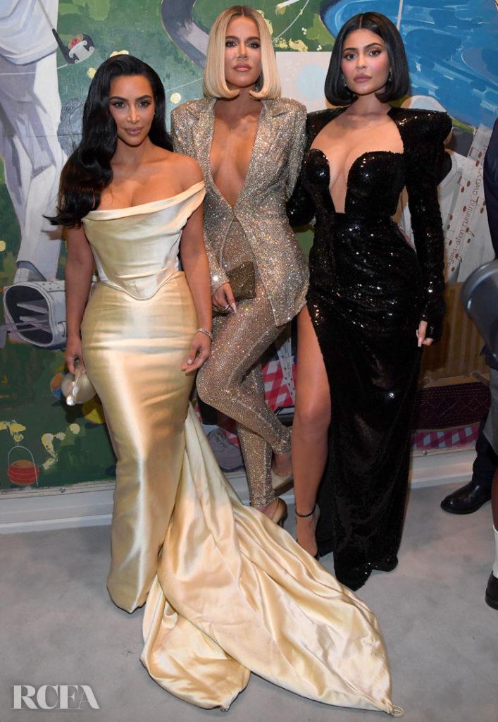 Kim Kardashian In Vivienne Westwood - Sean Combs 50th Birthday Bash
