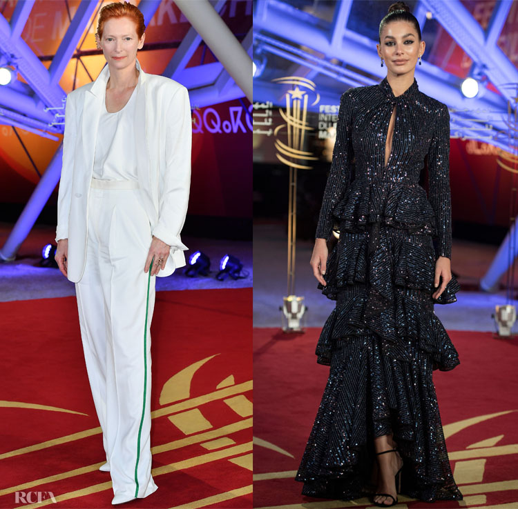 Tilda Swinton & Camila Morrone Close Day 8 Of The 2019 Marrakech Film Festival