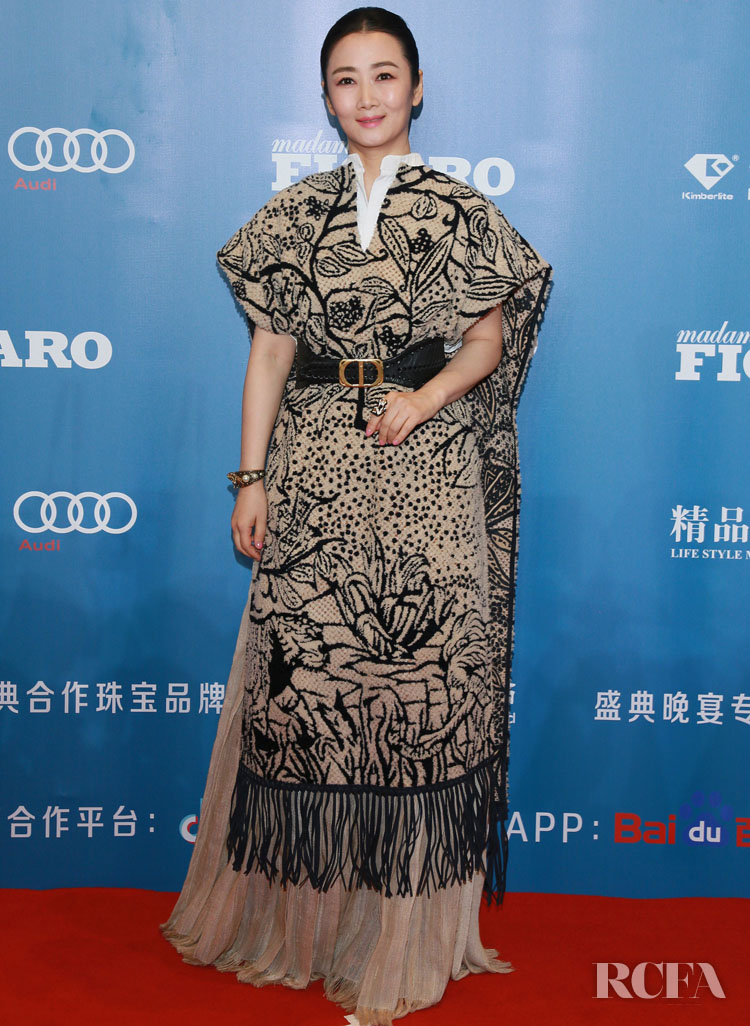 Zhao Tao Wore Christian Dior To The Madame Figaro Fashion Gala