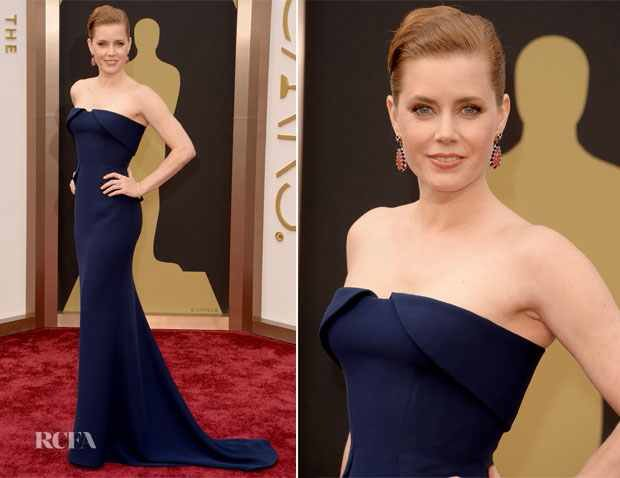 Amy Adams In Gucci Première – Oscars 2014