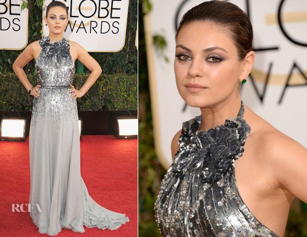 Mila Kunis In Gucci Première - 2014 Golden Globe Awards