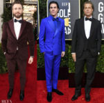2020 Golden Globe Awards Menswear Red Carpet Roundup
