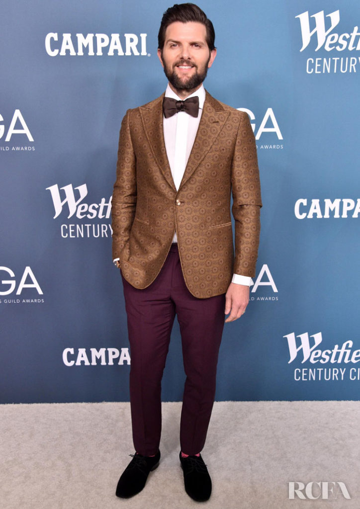 Adam Scott 2020 Costume Designers Guild Awards
