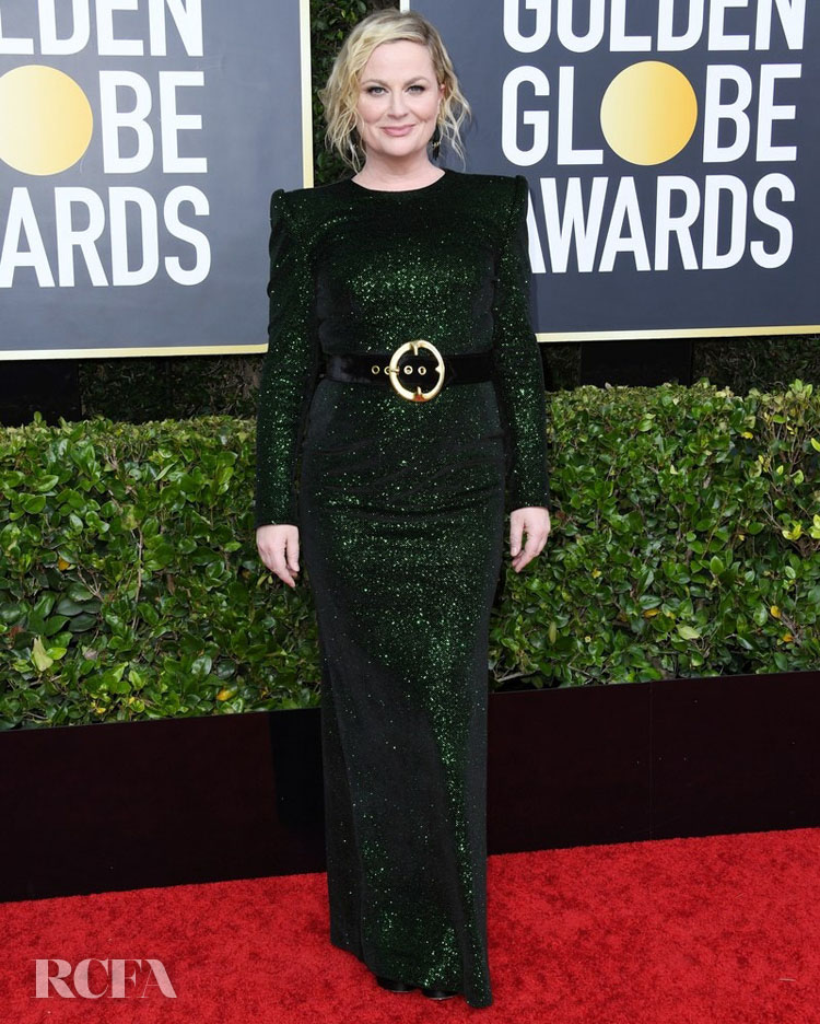 Amy Poehler 2020 golden globes