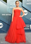 Anna Paquin In Carolina Herrera - 2020 SAG Awards