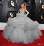 Ariana Grande In Giambattista Valli Haute Couture - 2020 Grammy Awards