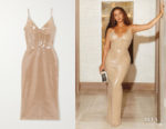 Beyonce Knowles' David Koma Sequin Dress