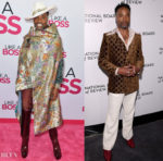 Billy Porter's Gucci Double For The 'Like A Boss' World Premiere & 2020 National Board Of Review Gala