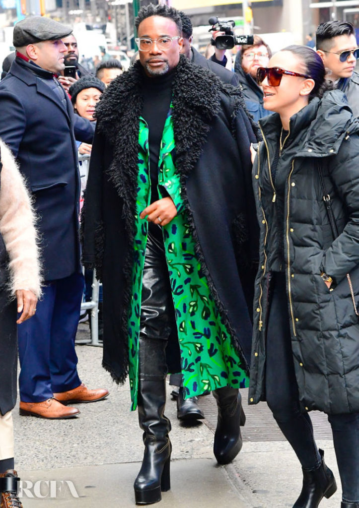 Billy Porter Wore Christian Wijnants En Route To Good Morning America