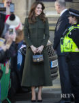 Catherine, Duchess of Cambridge Wore Alexander McQueen & Zara For Her Bradford Visit