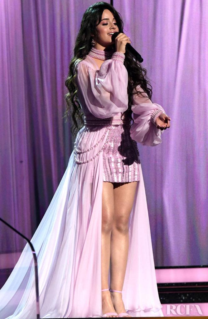 Camila Cabello In Atelier Versace - 2020 Grammy Awards