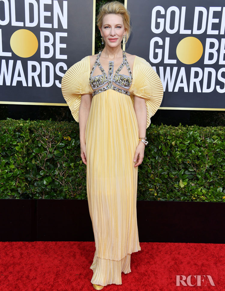 Cate Blanchett In Mary Katrantzou - 2020 Golden Globe Awards