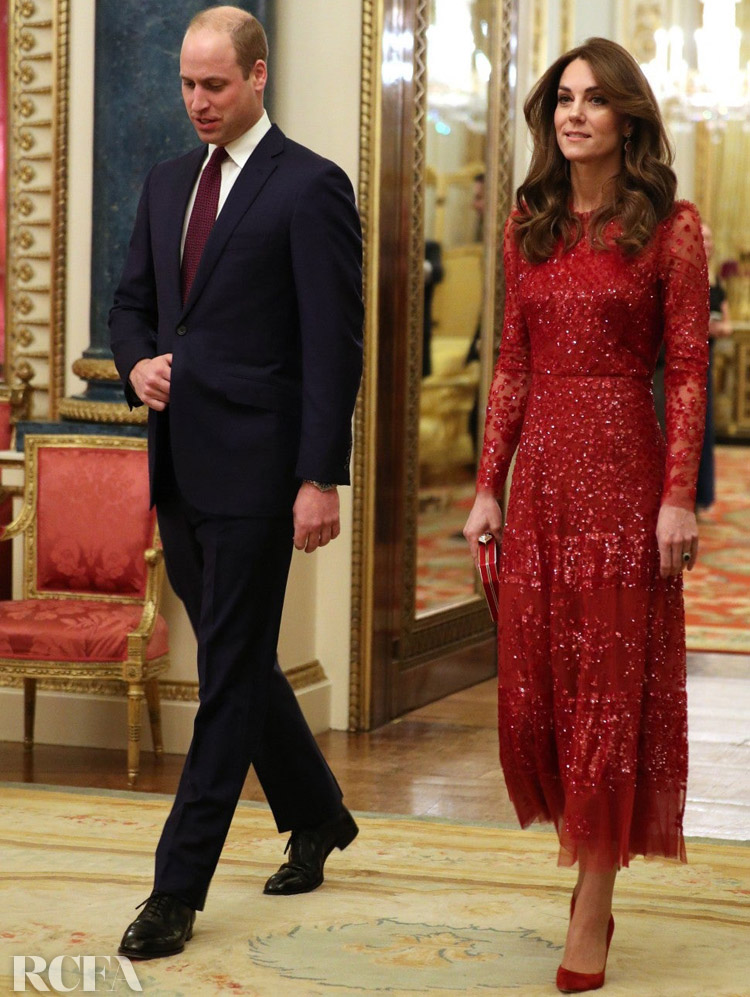 Catherine, Duchess of Cambridge Wore Needle & Thread, Massimo Dutti & Zara For This Weeks Royal Engagements