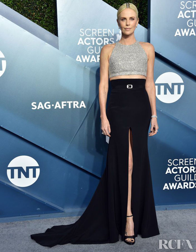 Charlize Theron In Givenchy Haute Couture - 2020 SAG Awards