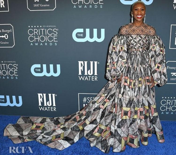 Cynthia Erivo In Fendi Couture - 2020 Critics Choice Awards