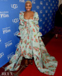 Cynthia Erivo Wore Brock Collection To The Santa Barbara International Film Festival - Virtuosos Award