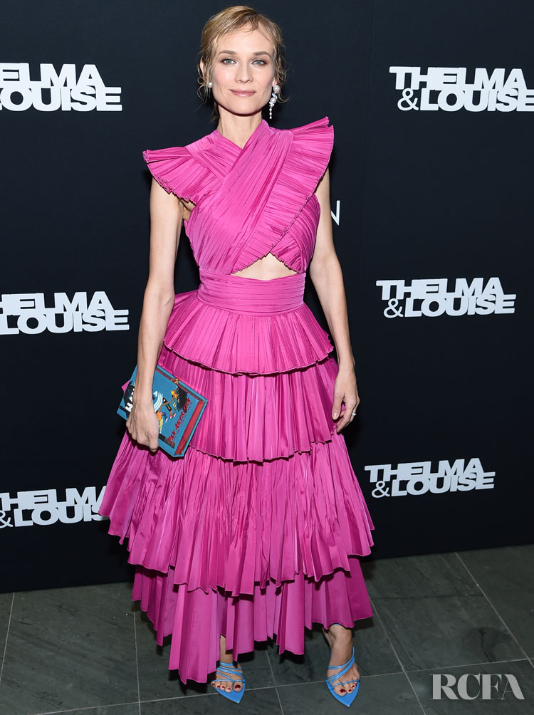 Diane Kruger Wore Prabal Gurung To The 'Thelma & Louise' New York Screening