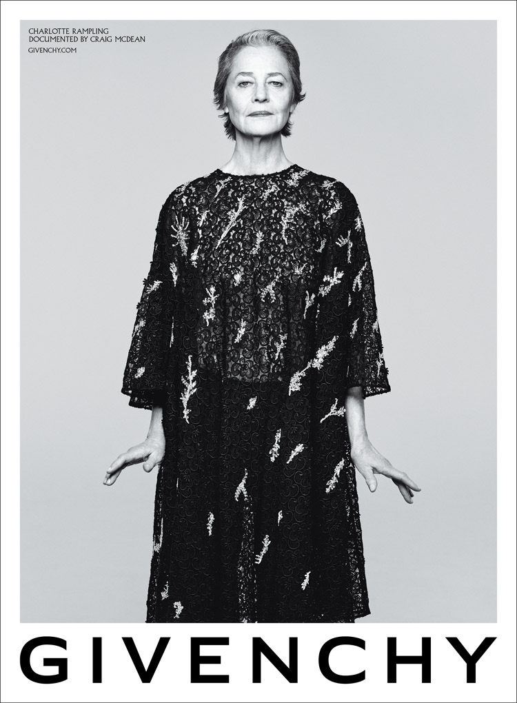 Charlotte Rampling & Marc Jacobs For Givenchy Spring 2020