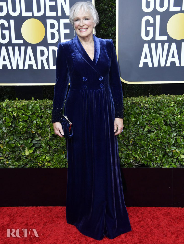 Glenn Close 2020 golden globes