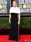 Greta Gerwig In Proenza Schouler - 2020 Golden Globe Awards