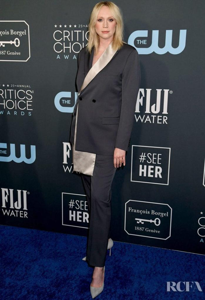 Gwendoline Christie In Dior Men - 2020 Critics' Choice Awards