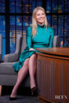 Gwyneth Paltrow Wore Galvan On Late Night With Seth Meyers