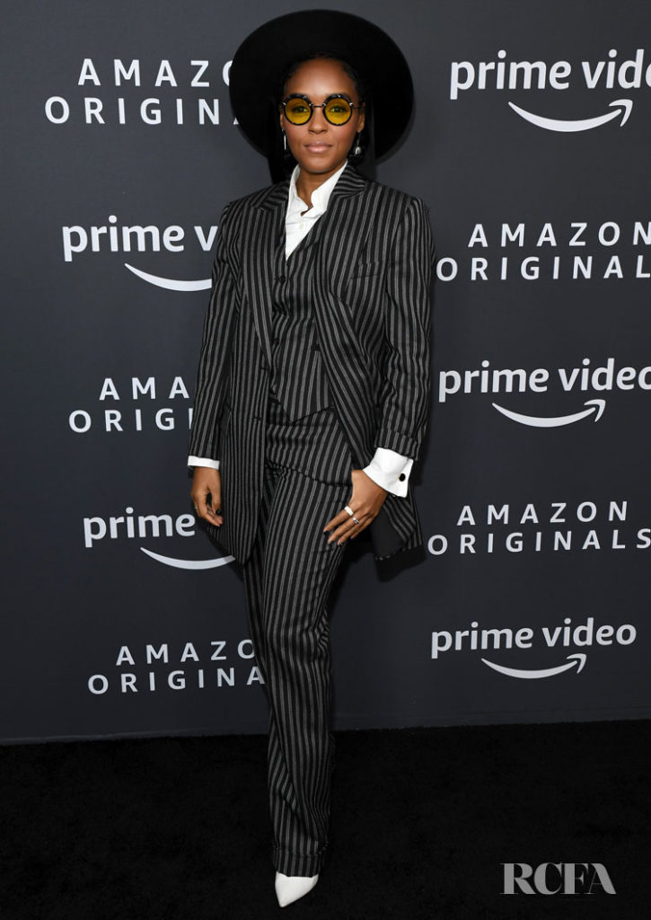 Janelle Monae Wore Michael Kors Collection To The 'Homecoming' Amazon Studios 2020 Winter TCA Press Tour