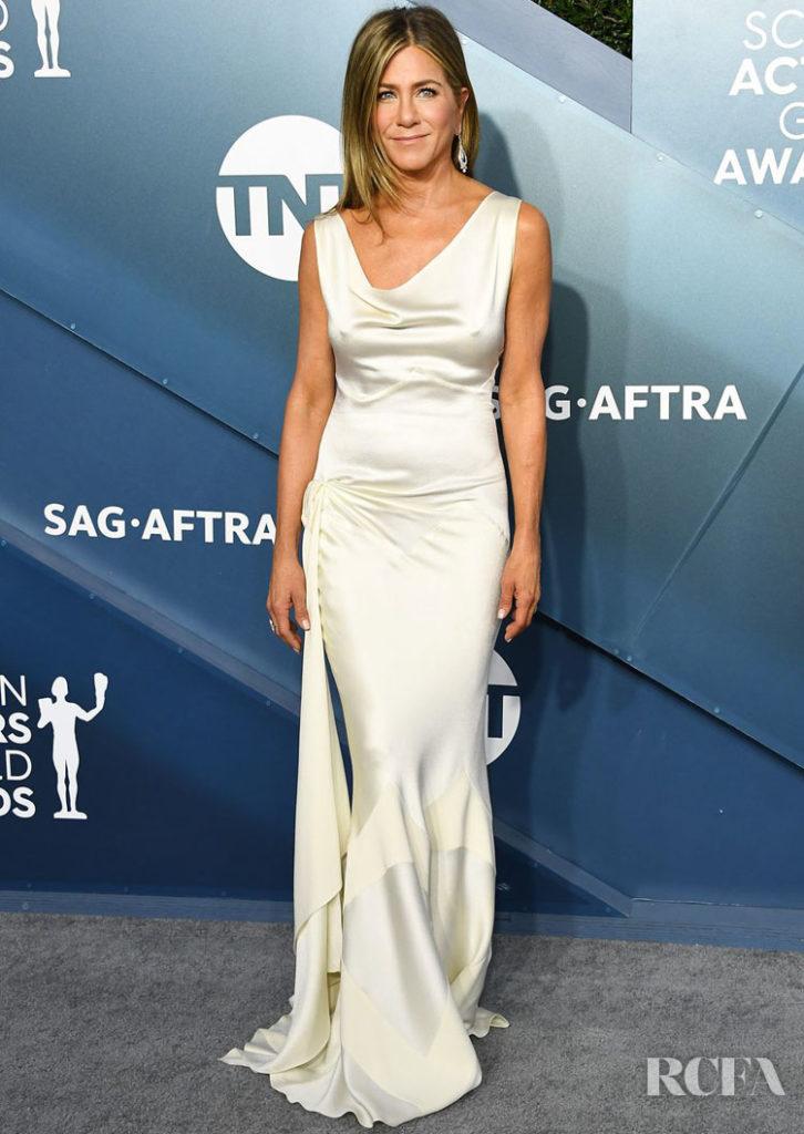 Jennifer Aniston In Christian Dior by John Galliano - 2020 SAG Awards