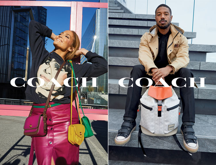 Coach Launches 'Originals Go Their Own Way' Campaign Starring Jennifer Lopez and Michael B. Jordan