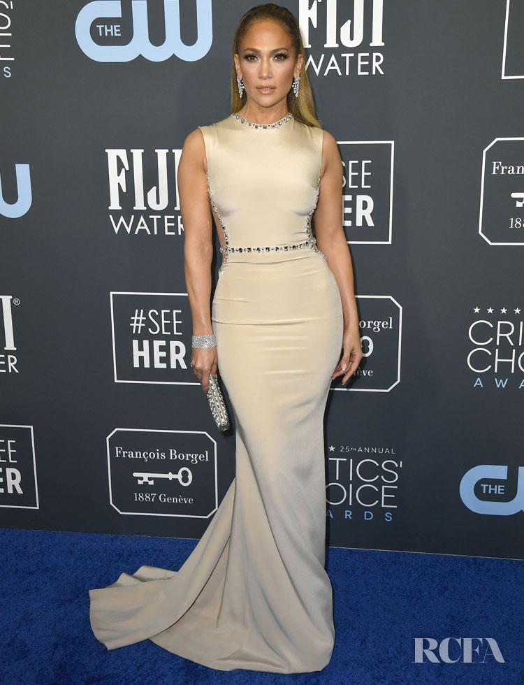 Jennifer Lopez In Georges Hobeika - 2020 Critics' Choice Awards