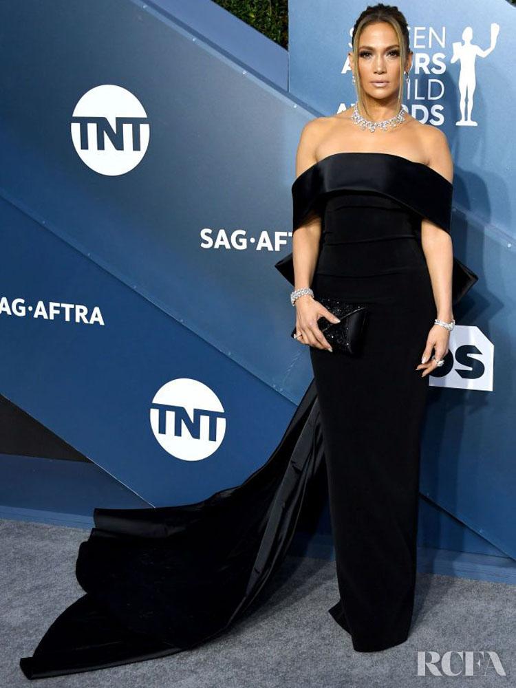 Jennifer Lopez In Georges Hobeika Couture - 2020 SAG Awards