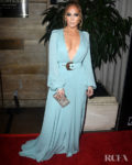 Jennifer Lopez Wore Elie Saab To The 2020 Los Angeles Critics Association Awards