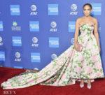Jennifer Lopez Wore Richard Quinn To The 2019 Palm Springs International Film Festival Awards